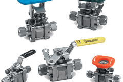 2way ball valve , بال ولو , شیر گازی  , swagelok, شیر توپی , شیر کروی ,  forged 1 , high pressure , s-lok , hansun , instrtument , ball valve