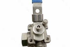 3way ball valve , ball valve , manual valve شیرگازی , گازی , شیر توپی مرکز استیل 110 center steel 11o instrument  fittings valve hy-lok hansun swagelok parker hoke