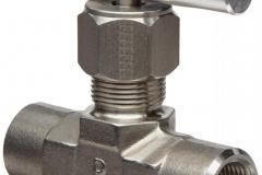 شیر سوزنی ,  نیدل ولو , needle valve ,  مرکز استیل 110 center steel 11o instrument  fittings valve hy-lok hansun swagelok parker hoke